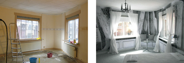 paleiskamer 21. before&after